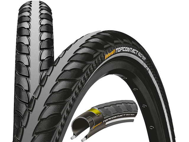"Continental Top Contact II Folding Tyre Vectran Breaker 27.5"" Reflex"